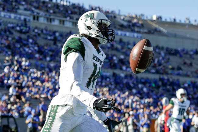 San Diego State  vs. Hawaii  - 11/5/16 College Football Pick, Odds, and Prediction