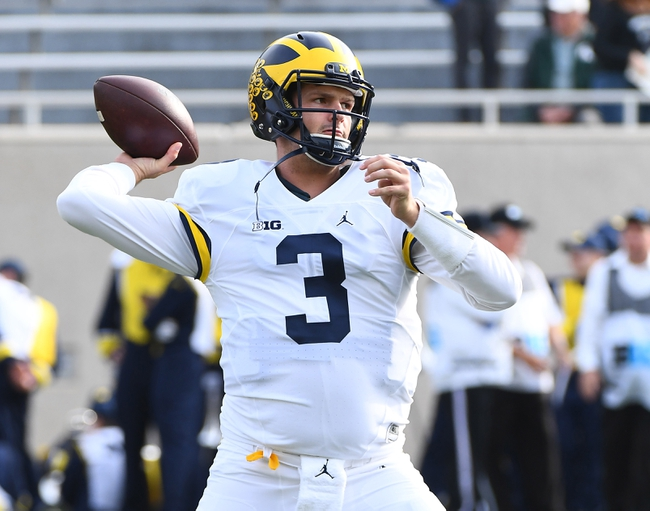 Maryland Terrapins at Michigan Wolverines - 11/5/16 College Football Pick, Odds, and Prediction