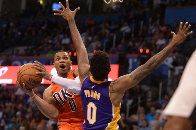 Los Angeles Lakers vs. Oklahoma City Thunder - 11/22/16 NBA Pick, Odds, and Prediction
