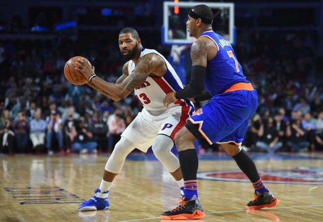New York Knicks vs. Detroit Pistons - 11/16/16 NBA Pick, Odds, and Prediction