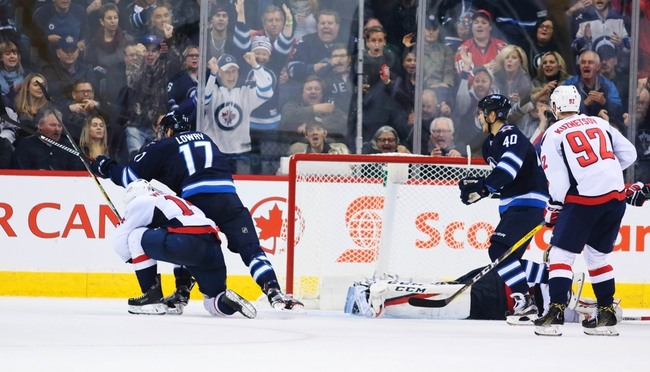 Washington Capitals vs. Winnipeg Jets - 11/3/16 NHL Pick, Odds, and Prediction