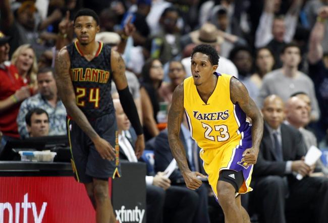 Los Angeles Lakers vs. Atlanta Hawks - 11/27/16 NBA Pick, Odds, and Prediction
