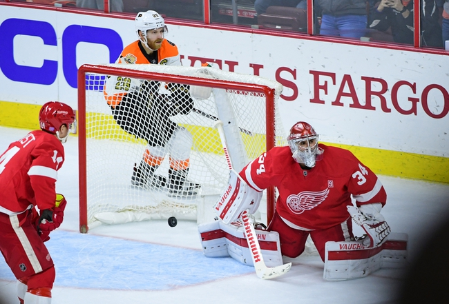 Philadelphia Flyers vs. Detroit Red Wings - 11/8/16 NHL Pick, Odds, and Prediction