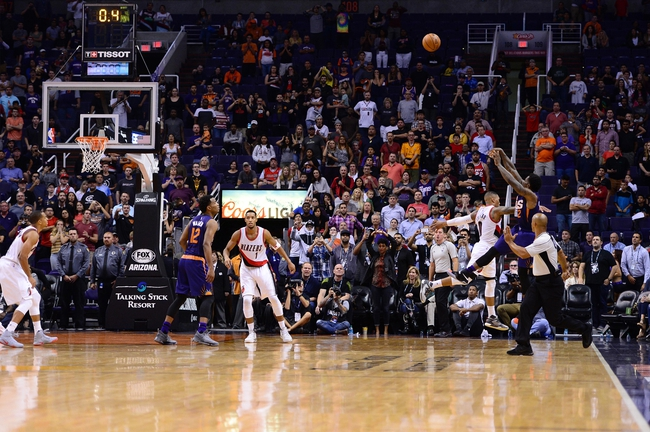 Portland Trail Blazers vs. Phoenix Suns - 11/8/16 NBA Pick, Odds, and Prediction