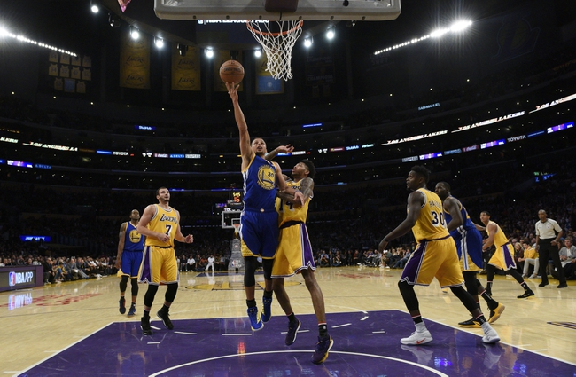 Golden State Warriors vs. Los Angeles Lakers - 11/23/16 NBA Pick, Odds, and Prediction