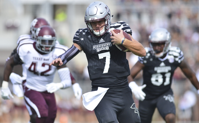 Mississippi State vs. Arkansas - 11/19/16 College Football Pick, Odds, and Prediction