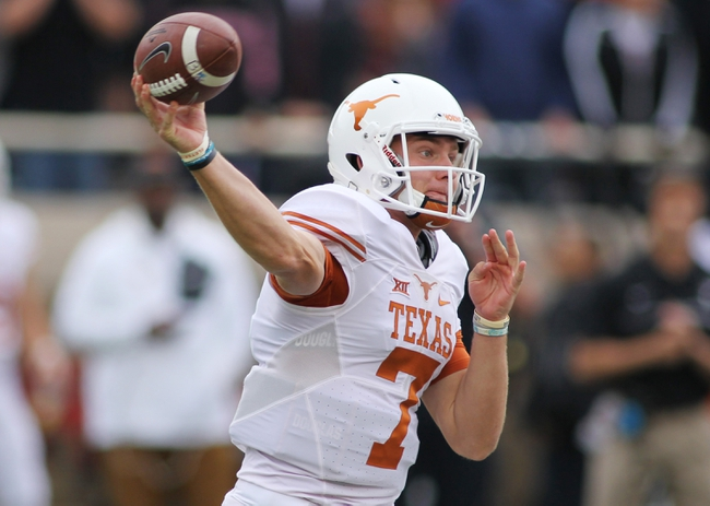 Texas vs. West Virginia - 11/12/16 College Football Pick, Odds, and Prediction