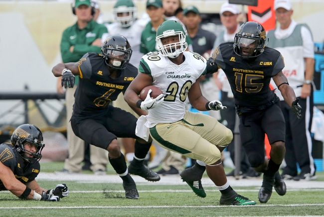 Charlotte 49ers vs. Rice Owls - 11/12/16 College Football Pick, Odds, and Prediction