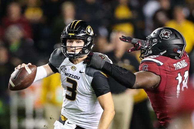 Missouri vs. Vanderbilt - 11/12/16 College Football Pick, Odds, and Prediction
