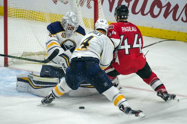 Buffalo Sabres vs. Ottawa Senators - 11/9/16 NHL Pick, Odds, and Prediction