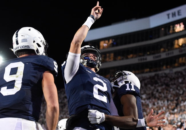 Penn State Nittany Lions at Indiana Hoosiers - 11/12/16 College Football Pick, Odds, and Prediction