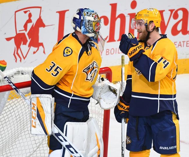Ottawa Senators vs. Nashville Predators - 11/17/16 NHL Pick, Odds, and Prediction