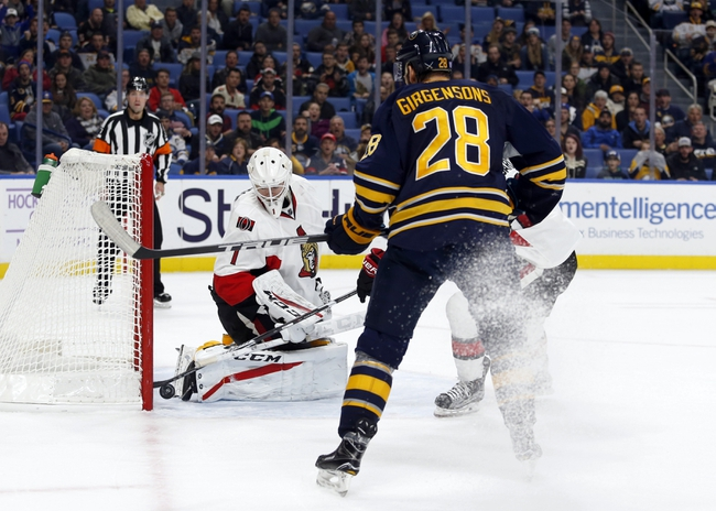 Ottawa Senators vs. Buffalo Sabres - 11/29/16 NHL Pick, Odds, and Prediction