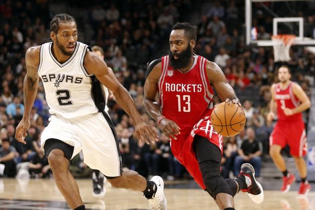 Houston Rockets vs. San Antonio Spurs - 11/12/16 NBA Pick, Odds, and Prediction