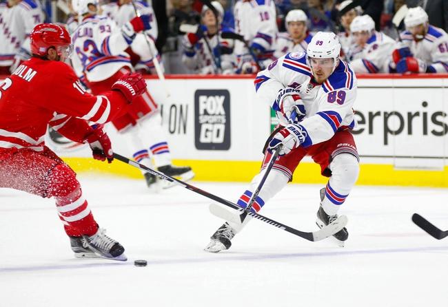 New York Rangers vs. Carolina Hurricanes - 11/29/16 NHL Pick, Odds, and Prediction