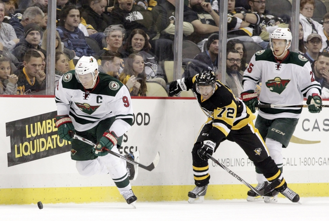 Wild erupt for 6-2 win over Pittsburgh