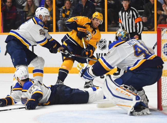 St. Louis Blues vs. Nashville Predators - 11/19/16 NHL Pick, Odds, and Prediction