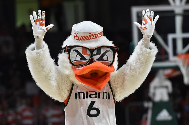 Miami vs. Pennsylvania - 11/19/16 College Basketball Pick, Odds, and Prediction