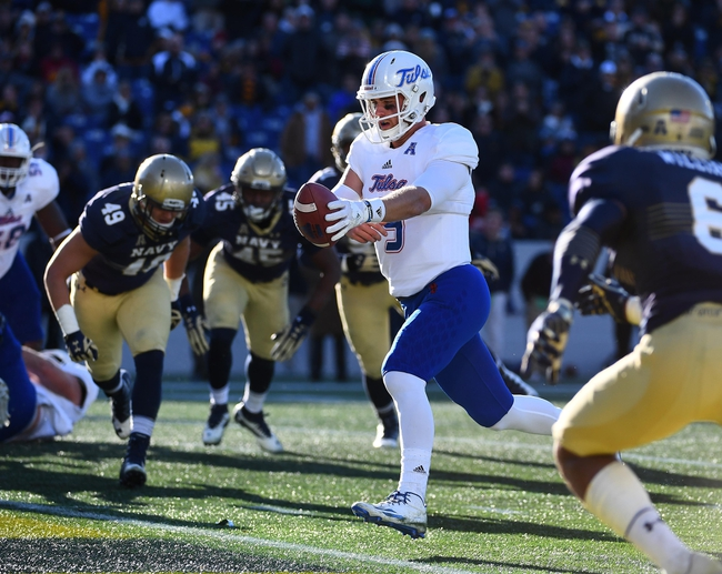 UCF vs. Tulsa - 11/19/16 College Football Pick, Odds, and Prediction