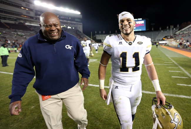 Georgia Tech Yellow Jackets vs. Virginia Cavaliers - 11/19/16 College Football Pick, Odds, and Prediction