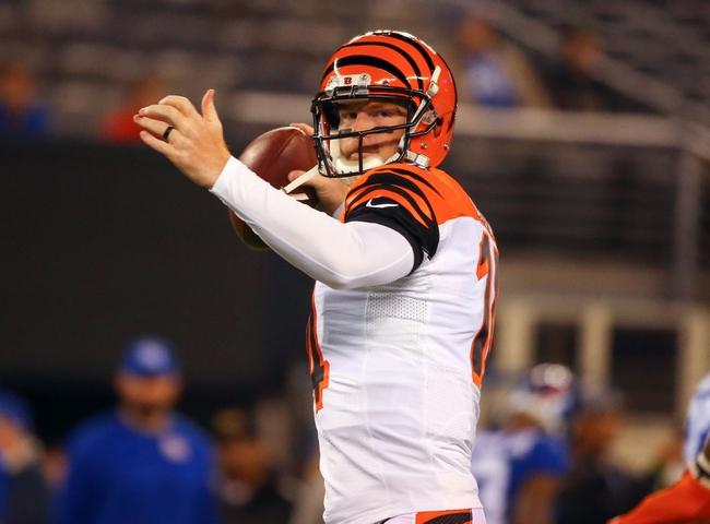 Cincinnati Bengals vs. Buffalo Bills - 11/20/16 NFL Pick, Odds, and Prediction