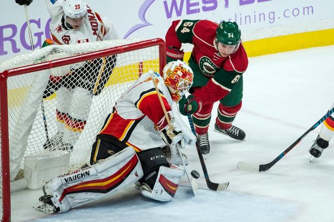 Calgary Flames vs. Minnesota Wild - 12/2/16 NHL Pick, Odds, and Prediction