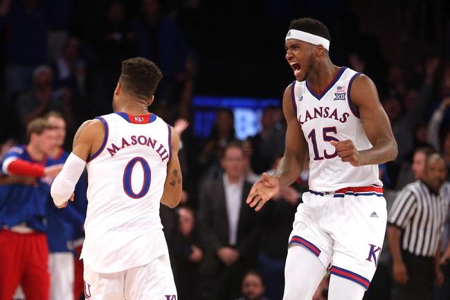 Kansas Jayhawks vs. Siena Saints - 11/18/16 College Basketball Pick, Odds, and Prediction