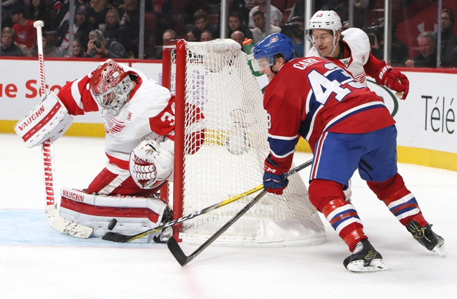 Detroit Red Wings vs. Montreal Canadiens - 11/26/16 NHL Pick, Odds, and Prediction