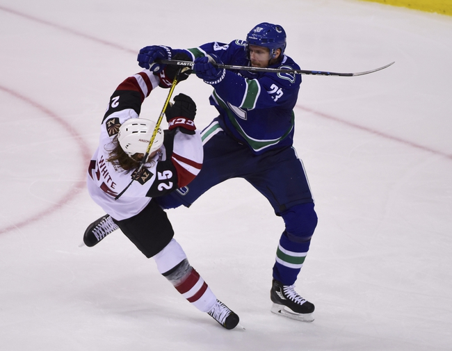 Arizona Coyotes vs. Vancouver Canucks - 11/23/16 NHL Pick, Odds, and Prediction