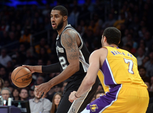 San Antonio Spurs vs. Los Angeles Lakers - 1/12/17 NBA Pick, Odds, and Prediction
