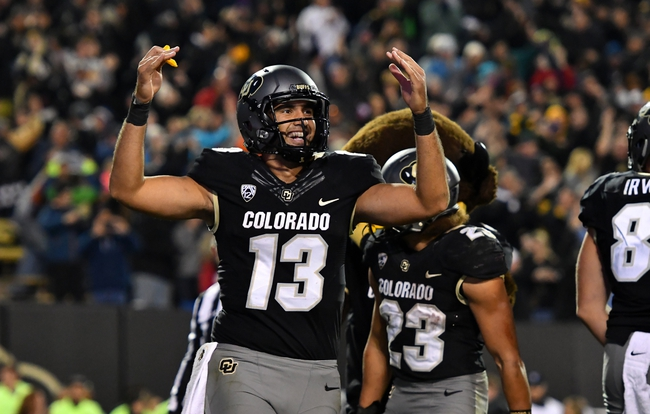 Gritty Liufau leads No. 9 Colorado into Pac-12 title game