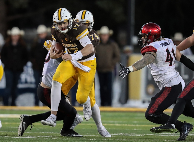 Wyoming vs. San Diego State - 12/3/16 College Football Pick, Odds, and Prediction