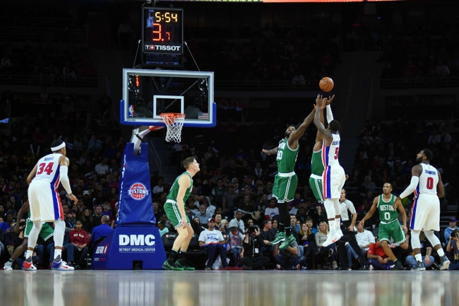 Boston Celtics vs. Detroit Pistons - 11/30/16 NBA Pick, Odds, and Prediction