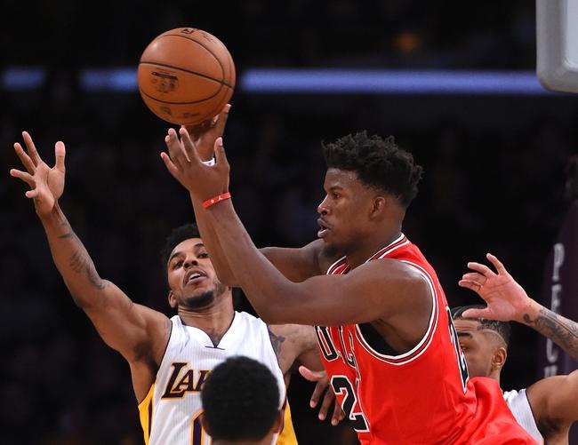 Chicago Bulls vs. Los Angeles Lakers - 11/30/16 NBA Pick, Odds, and Prediction