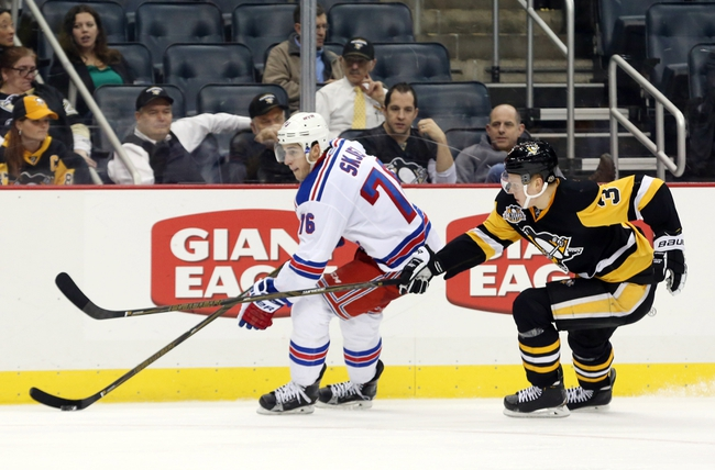 New York Rangers vs. Pittsburgh Penguins - 11/23/16 NHL Pick, Odds, and Prediction