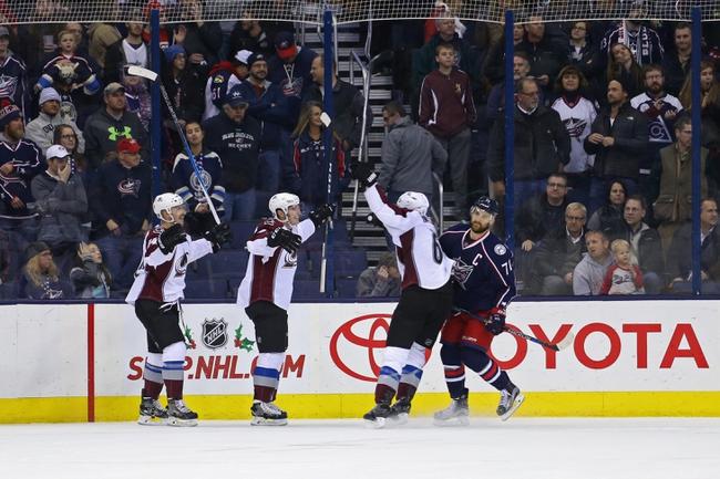Colorado Avalanche vs. Columbus Blue Jackets - 12/1/16 NHL Pick, Odds, and Prediction