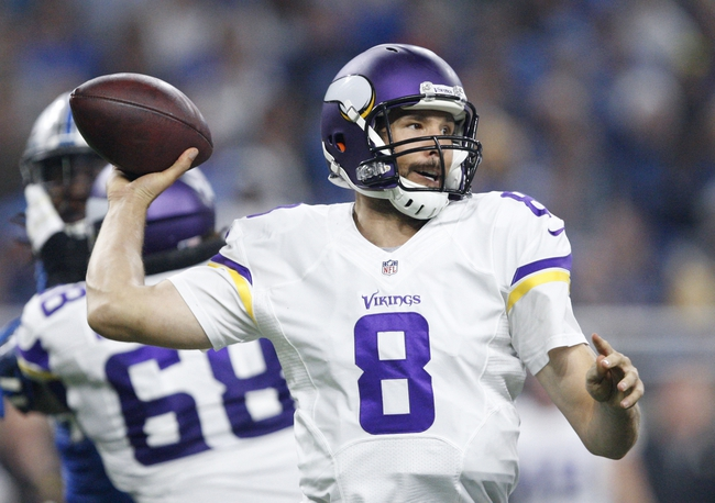 Minnesota Vikings vs. Dallas Cowboys - 12/1/16 NFL Pick, Odds, and Prediction