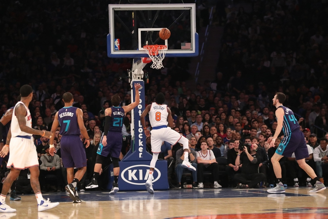 Charlotte Hornets vs. New York Knicks - 11/26/16 NBA Pick, Odds, and Prediction