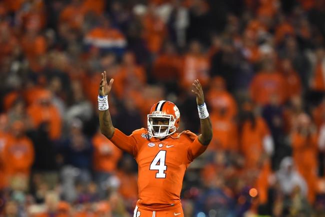 Virginia Tech Hokies vs. Clemson Tigers - 12/3/16 College Football Pick, Odds, and Prediction