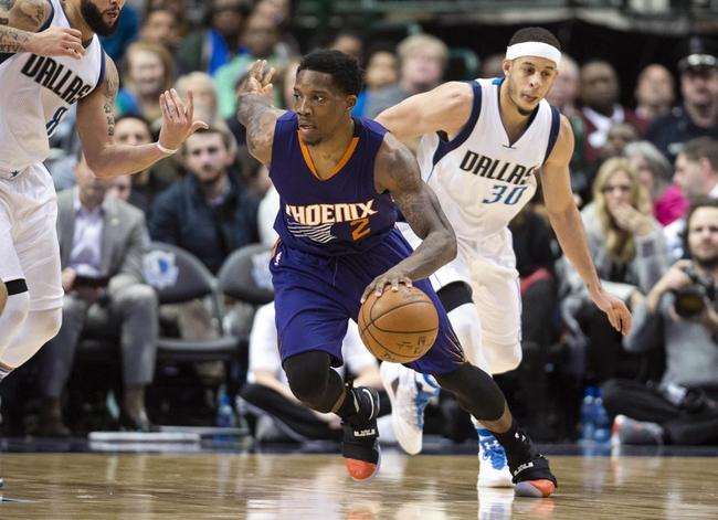 Phoenix Suns vs. Dallas Mavericks - 1/12/17 NBA Pick, Odds, and Prediction