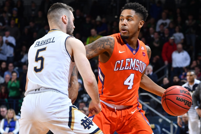Georgia Tech vs. Clemson - 1/12/17 College Basketball Pick, Odds, and Prediction