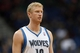 Apr 6, 2013; Minneapolis, MN, USA; Minnesota Timberwolves small forward Chase Budinger (10) looks on during a free throw in the second half against the Detroit Pistons at Target Center. The Timberwolves won 107-101. Mandatory Credit: Jesse Johnson-USA TODAY Sports