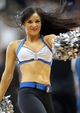 Apr 6, 2013; Minneapolis, MN, USA; Minnesota Timberwolves dancer performs during the second half against the Detroit Pistons at Target Center. The Timberwolves won 107-101. Mandatory Credit: Jesse Johnson-USA TODAY Sports