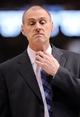 Apr 15, 2013; Dallas, TX, USA; Dallas Mavericks head coach Rick Carlisle reacts to a referee call during the second half of the game between the Mavericks and the Memphis Grizzlies at the American Airlines Center. The Grizzlies defeated the Mavericks 103-97. Mandatory Credit: Jerome Miron-USA TODAY Sports