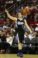 April 14, 2013; Houston, TX, USA; Sacramento Kings point guard Jimmer Fredette (7) in action against the Houston Rockets in the fourth quarter at the Toyota Center. The Rockets defeated the Kings 121-100. Mandatory Credit: Brett Davis-USA TODAY Sports