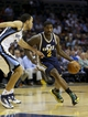 Apr 17, 2013; Memphis, TN, USA;  Utah Jazz power forward Marvin Williams (2) drives to the basket against Memphis Grizzlies small forward Tayshaun Prince (21) during the game at FedEx Forum.  Mandatory Credit: Spruce Derden   USA TODAY Sports