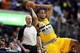 April 17, 2013; Denver, CO, USA; Denver Nuggets forward Anthony Randolph (15) looks to pass the ball during the second half against the Phoenix Suns at the Pepsi Center.  The Nuggets won 118-98.  Mandatory Credit: Chris Humphreys-USA TODAY Sports