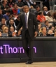 Apr 17, 2013; Toronto, Ontario, CAN; Toronto Raptors head coach Dwane Casey on the court side during the third quarter against the Boston Celtics at the Air Canada Centre. The Raptors beat the Celtics 114-90. Mandatory Credit: Kevin Hoffman-USA TODAY Sports