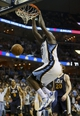 Apr 17, 2013; Memphis, TN, USA;  Memphis Grizzlies power forward Zach Randolph (50) dunks the ball during the game against the Utah Jazz at FedEx Forum.  The Memphis Grizzlies defeated the Utah Jazz 86-70.  Mandatory Credit: Spruce Derden   USA TODAY Sports