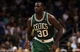 Apr 13, 2013; Orlando, FL, USA; Boston Celtics power forward Brandon Bass (30) against the Orlando Magic during the second half at the Amway Center. Boston Celtics defeated the Orlando Magic 120-88. Mandatory Credit: Kim Klement-USA TODAY Sports
